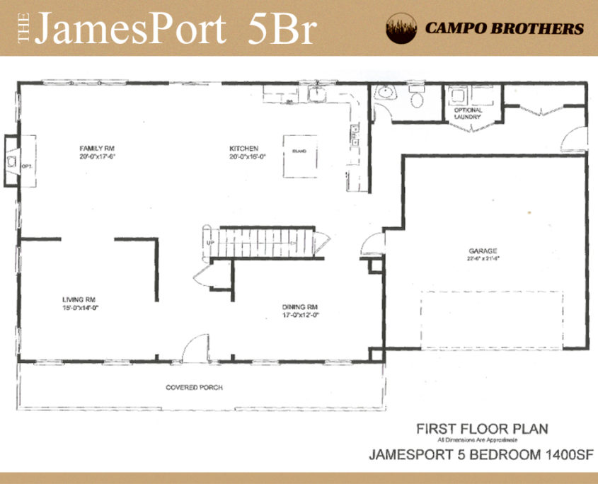 Floor Plans Campo Brothers