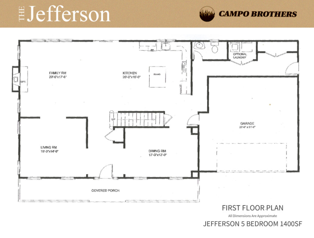 Floor Plans Campo Brothers Long Island